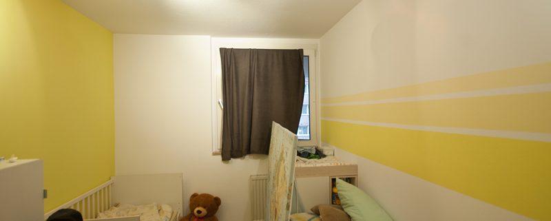 AuBergewohnlich Kinderzimmer, Grüne Wand, Streifen