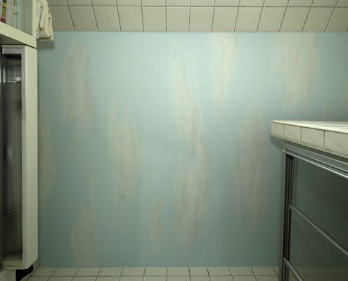 gemalter Himmel, Badezimmerdecke