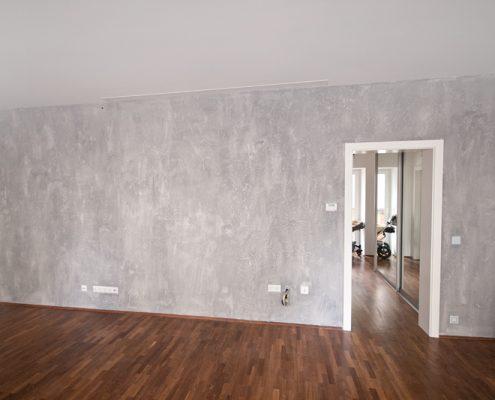 Shabby Chic – Wandgestaltung im Wohnzimmer