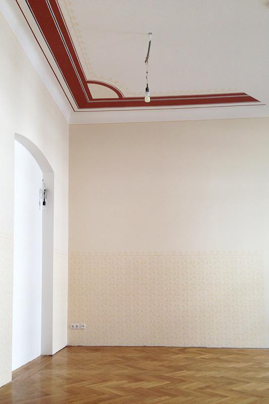 Deckenmalerei Und Musterwalzengestaltung