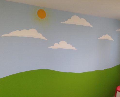 Kinderzimmergestaltung - Sommerwiese
